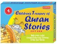 Childrens Treasury of Quran Stories Gift Box (Four Hard Bound books)