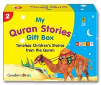 My Quran Stories Gift Box-2 - Quran Stories for Little Hearts 20 PB Books