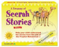 A Treasury of Seerah Stories Gift Box - 1 (Four Hard Bound Books)
