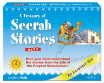 A Treasury of Seerah Stories Gift Box - 2 (Four Hard Bound Books)