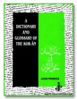 Dictionary and Glossary of The Koran