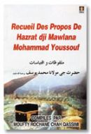 Recuiel Des Propos De Hazrat dji Maulana Mohammad Youssouf (Rah) - Français