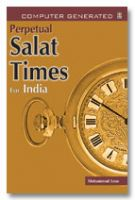 Perpetual Salat Times - only for India
