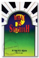 What is Shariah ?