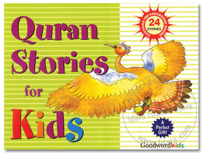 Quran Stories for Kids - Gift Box (Two Hard Bound Books - 24